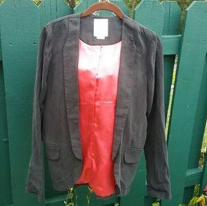 Anthropologie Elevenses Whitby Blazer Jacket